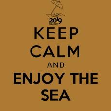 keepcalmand_ENJOY THE SEA